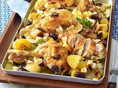 Lekker en weer eens wat anders… Griekse kip van de bakplaat.
