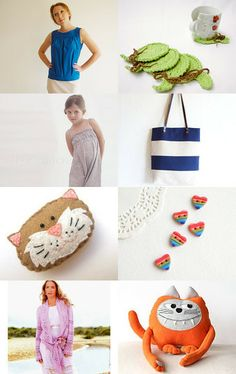 Ready for some cuteness? Check Annemarie's Etsy treasury here!