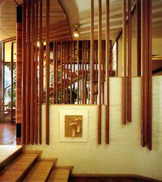 Alvar Aalto, interior from the Villa Mairea, Noormarkku, Finland 1938-1939.