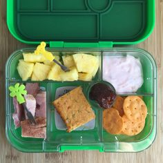 Well balanced Weekly Lunch Box Ideas for your Little Grazers Raisin Muffins, Mini Bananas, Healthy Toddler Meals, Baked Ham, Original Recipe, Lentils, Cheddar, Finger Foods, Crackers