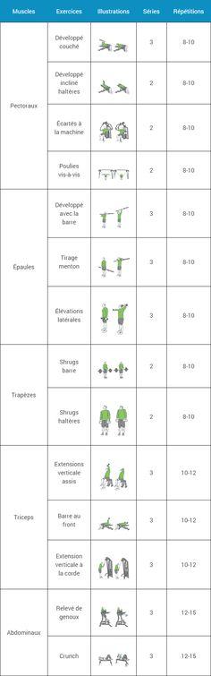 Gut gemocht Programme Musculation Débutant - Espace-Musculation.com  UI61