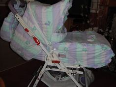 Stunning 2 in 1 pram by Yougollino - beautiful colour and design Omega model |