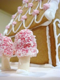 Pink Gingerbread House | Lydia | Flickr