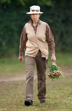 Princess Anne, Princess Royal attends the Whatley Manor International Horse Trials at Gatcombe Park, Minchinhampton on 20.09.2014 in Stroud, England