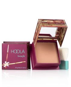 Best bronzer and contour product. I'm using it almost everyday. Not too dark nor orangy thingy...just match.