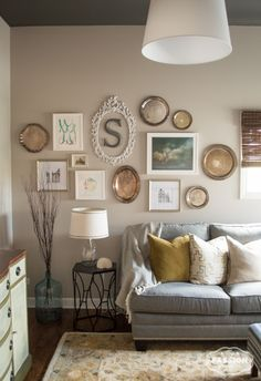 Easy Gallery Wall Using Minted Artwork