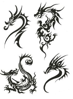 dragon tattoo for women - Google Search