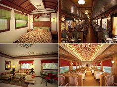 Experience the royal voyage for the Deccan Odyssey routes by the luxurious train, Indian Maharaja