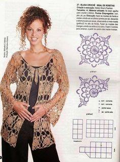Carla crochet e não só... !!! : Sugestões Artigos em crochet - Verão # 1