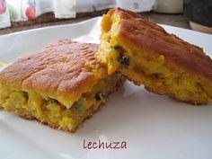 Empanada de maíz de Bacalao y berberechos