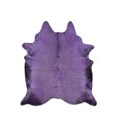 Cow skin rug Purple print cowhide Brand: Pura Reference…
