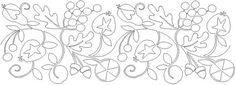 AnneBright.com - Shop | Category: Paper Pantographs | Product: Fruitopia, Pantograph
