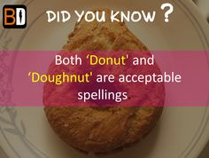 Did you Know?  #FoodFact