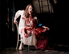 Carrie the Musical Carrie The Musical, Prom Night, Carry On, Theatre, Musicals, Broadway, Sari, Dresses, Fashion