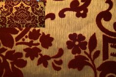 Velvet Flocked Wallpaper - we had a white with black velvet, a green on green/gold, and a third that I can't remember something on a gold background. Maybe it was two more and that is why I can't get it straight.