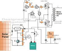 12v to 230v inverter circuit using pwm ic sg3525 12v inverter how to make a solar inverter circuit electronic circuit projects ccuart Gallery