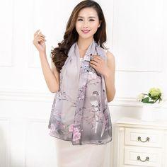 Hot Pretty Long Soft Women Fashion Magpie Chiffon Scarf Wrap Shawl Stole Scarves #Unbranded #Scarf