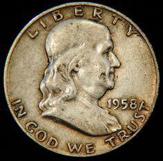 Franklin Silver Half Dollar