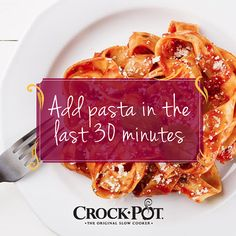 Are you a big fan of Italian food? This tip will help you make perfect slow cooker pasta dishes every time! #CrockPot