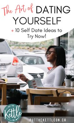 Need some quality alone time? Have you thought about going on a date with yourself? I've been dating myself for years! This is a fun way to practice self care leading to increased happiness. Have some fun and check out these 10 solo date ideas now! Self Development, Personal Development, Education Humor, Self Care Activities, Love Tips, Positive Mindset, Positive Living, Life Advice, Dating Advice