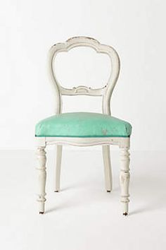 Olmo turquoise chair