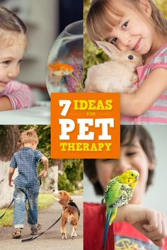 7 Ideas for Pet Therapy   Special Needs   Autism   ADHD   SPD   Aspergers