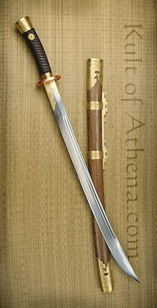 Iron Tiger Forge Yanmaodao Sword
