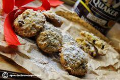 Biscotti avena e uvetta