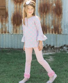 Pair a tunic top with leggings for a look that is super movable.