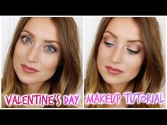 Valentine's Day Makeup Tutorial - vlogwithkendra - YouTube