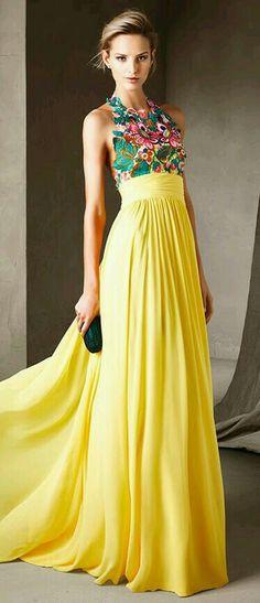 Tejer cuerpo superior del vestido de fiesta