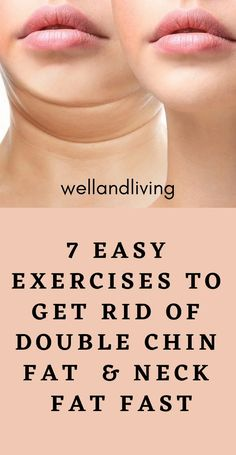 Double Chin Exercises, Double Chin Workout, Reduce Face Fat, Face Yoga Exercises, Fat Neck Exercises, Muscles Of The Neck, Reduce Double Chin, Fitness Workout For Women, New Shape