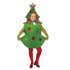 Kid's Christmas Tree Costume - One Size Fits All