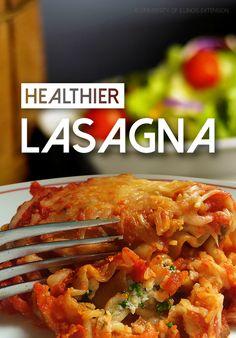 Recipe Rescue: HEALTHIER Lasagna