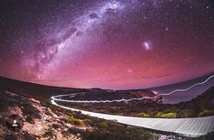 Wow! #kalbarri coastal boardwalk at night www.kalbarri.org.au