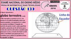 CURSO MATEMÁTICA ENEM 2016 QUESTÃO 139 PROVA ROSA RESOLVIDA EXAME NACION... https://youtu.be/gv9KO-tpygQ