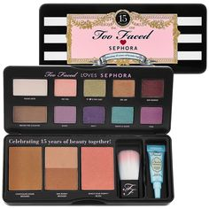 Too Faced Loves Sephora 15 Years Of Beauty Palette - want