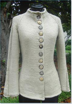 "Imagine Knit Designs   London Calling     Sizes: Sm (34), Med (36), Lg (40), XL (44)""     Materials:  900-1200 yards Debbie Bliss Cashmerino Chunky"