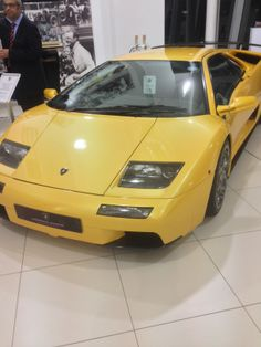 A Lamborghini Diablo Was Also in Attendance