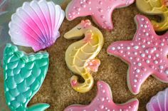 Cookies from a Magical Mermaid Birthday Party via Kara's Party Ideas! KarasPartyIdeas.com (22)