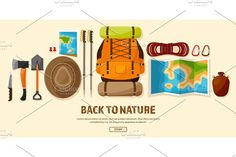 Travel,Hiking Background. Mountain Climbing.International Tourism,Trip to Nature,Around the World Journey.Summer Holidays,Camping.Exploring and Discovering Adventure,Worldwide Trekking Expedition.Map. by 32pixels on @Graphicsauthor