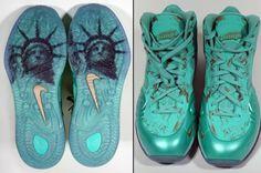 "Sneaker Pimps x Nike Hyperposite ""Statue of Liberty"""
