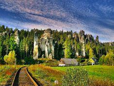 Адршпашско-Теплицкие скалы (Adrspassko-teplicke skaly), Чехия