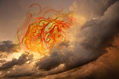 Fotografo Vitor Schietti - Formas Pensamento. Artes visuales, composicion visual surreal, foto digital y acuarela. Atardecer, puesta de sol. #sunset #coolstuff #artPics #iconocero #sunset