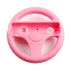 GH Wii Steering Wheel for Mario Kart 8 and Other Nintendo Remote Driving Games, Wii (U) Racing Wheel for Remote Plus Controller - Peach Pink Colors Available), Wii U, Nintendo Wii, Video Game Collection, Mario Kart 8, Racing Wheel, Video Game Console, Remote, Video Games, Games Consoles