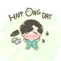Ong Seung Woo, Seong, My Idol, Chibi, Anime Art, Fan Art, Cartoon, My Love, Cute