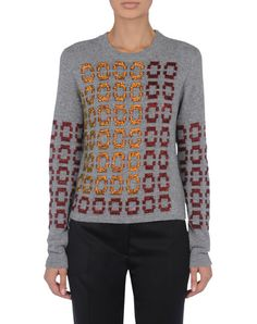 Pringle of Scotland - Pre fall Composition:69% Virgin Wool, 21% Viscose, 10% Merinos Wool Made In PortugalLightweight sweater Crew neckline Bead detailing