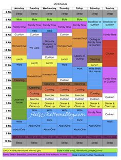 My New Weekly Homeschool Schedule featuring Tell Your Time by Amy Lynn Andrews
