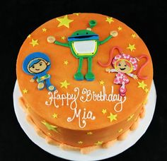 Umizoomi Cake by butterflybakeshop, via Flickr