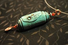 Blue Mystisc Pendant 1 by Page's Creations, via Flickr